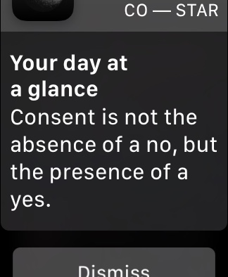"""""""Consent is not the absence of a no, but the presence of a yes."""""""